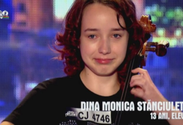 Sighetenii au talent! Monica a cucerit juriul!