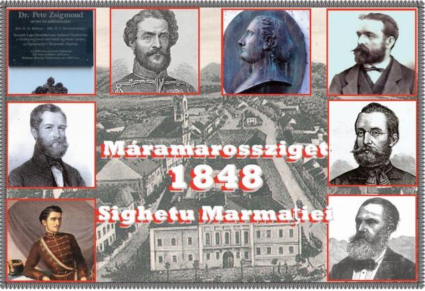Peste o sută de sigheteni au participat activ la Revoluţia din 1848.