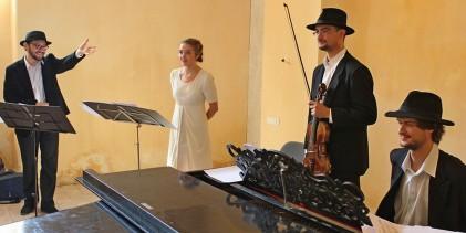 Concert-spectacol de muzică evreiască la sinagoga din Sighet.