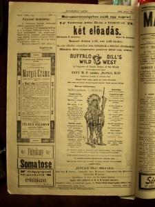 Pagina din ziarul sighetean