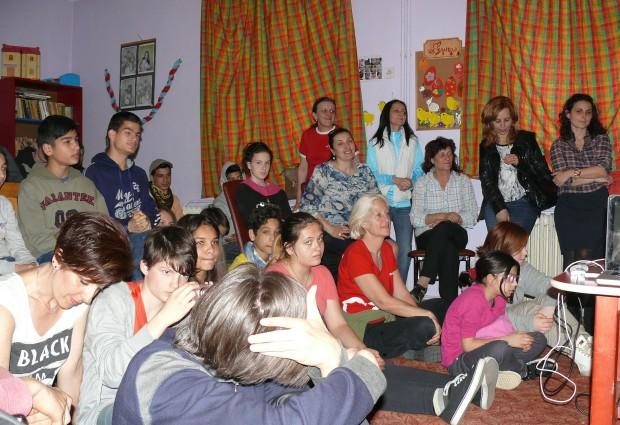 Spectacol – bilanţ la Centrul Maternal
