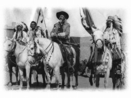 Cu 109 ani în urmă, Sighetul a fost cucerit de 800 de piei roşii conduşi de Buffalo Bill.