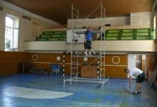 """Se reface sala de sport a Liceului """"Regele Ferdinand""""."""