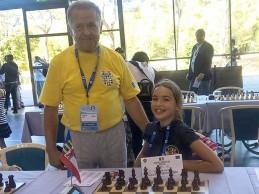 Mihaela Trifoi:  Locul III la Europenele de Şah!