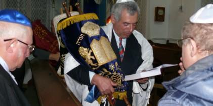 Simhat Torah – Bucuria Torei la Sighet.