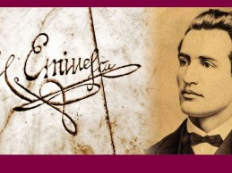 Eminescu la Sighet. Prima traducere a unei poezii de Eminescu s-a făcut la Sighet în anul 1885.
